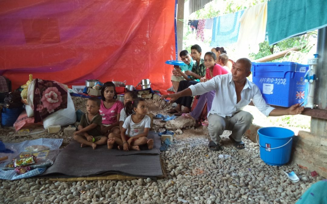 FIRE AID Visit: Nepal