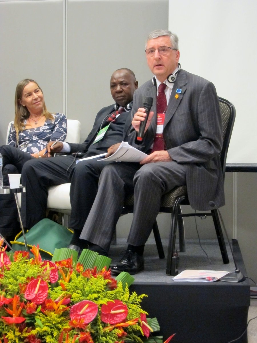 FIRE AID Chair Jim Fitzpatrick MP sharing the UK experience at a parallel session organised by WHO