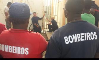 Building process Cape Verde Firefighters