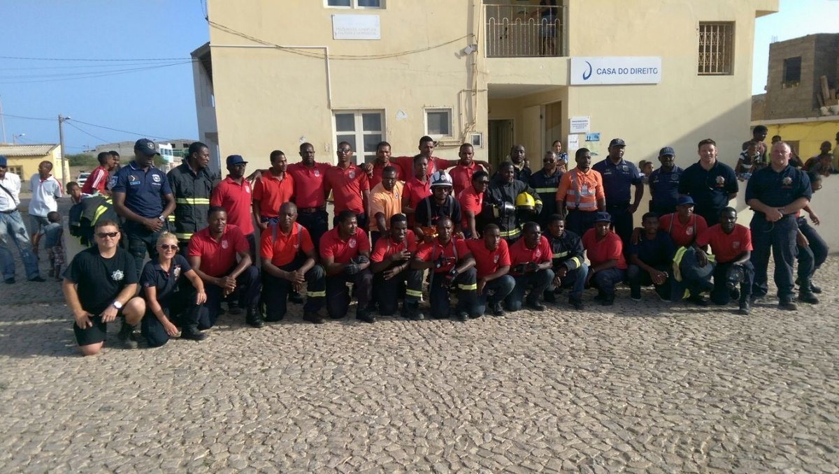 Cape Verde Firefighters