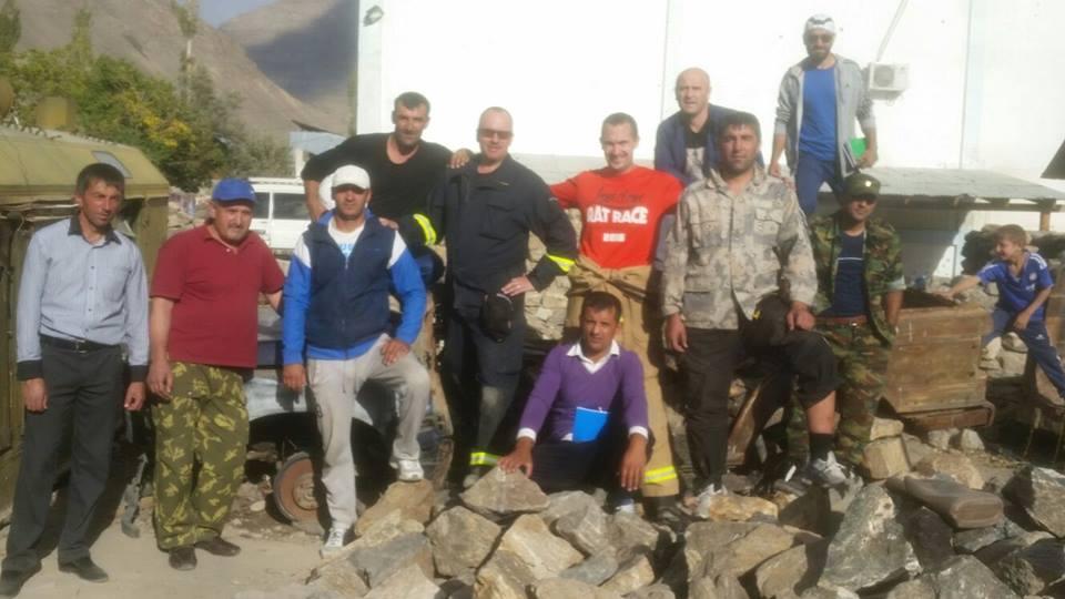 The team in Khorog in the GBAO Region