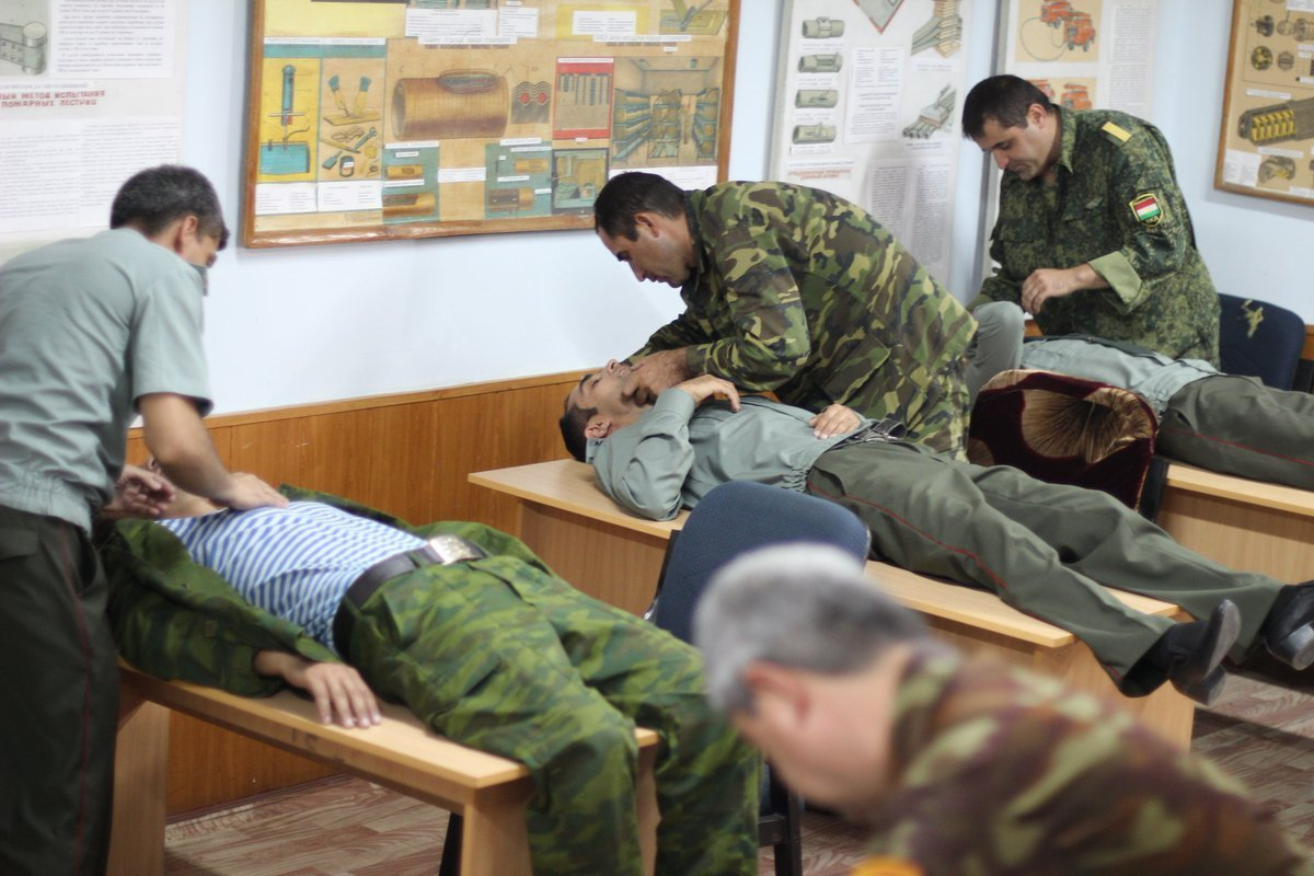 The SESHAA instructors delivered practical and theoretical training