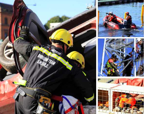 FIRE AID attends UKRO National Rescue Challenge