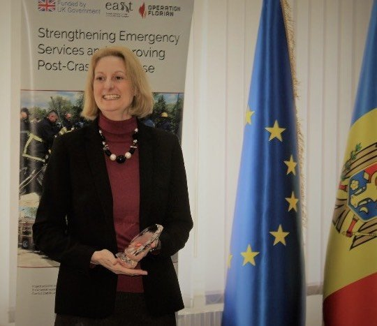FIRE AID attends closing ceremony for 5-year project in Moldova