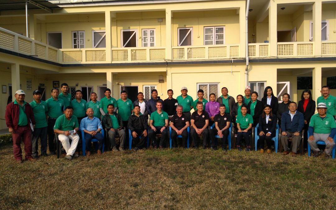 FIRE AID provides fire safety training in Nepal