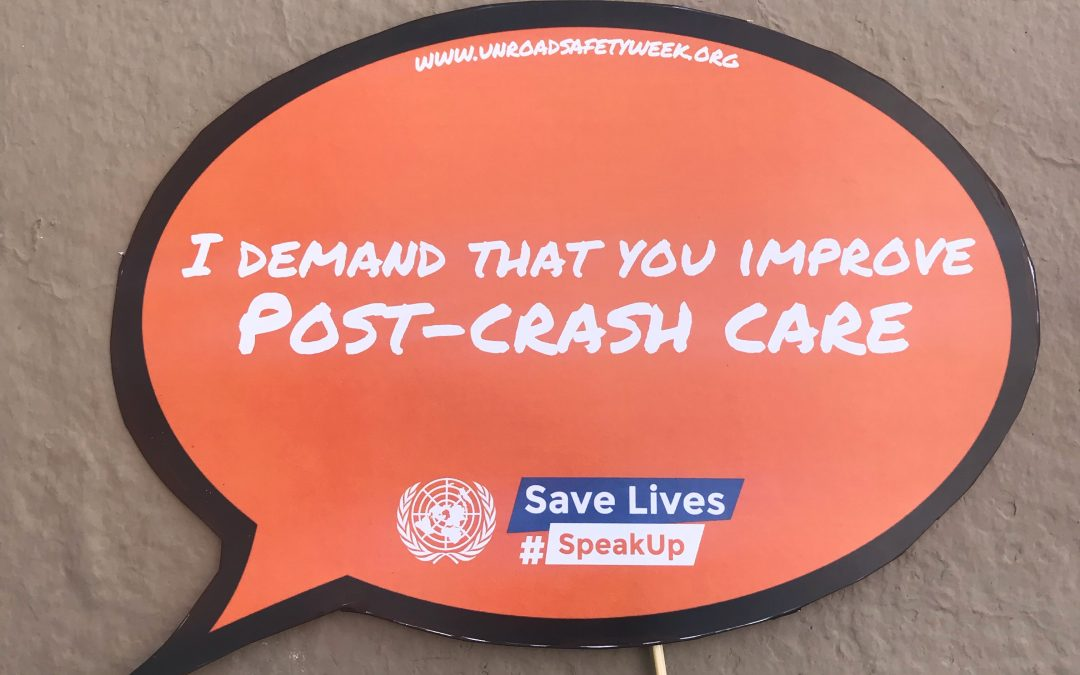 FIRE AID attends meeting of the Global Alliance of NGO's for Road Safety