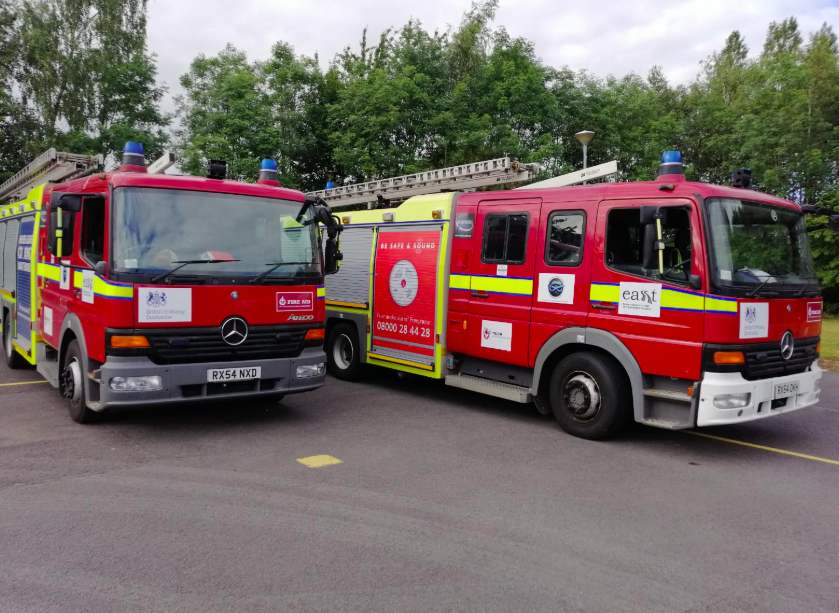 FIRE AID members EASST and SESHAA send two appliances to Tajikistan