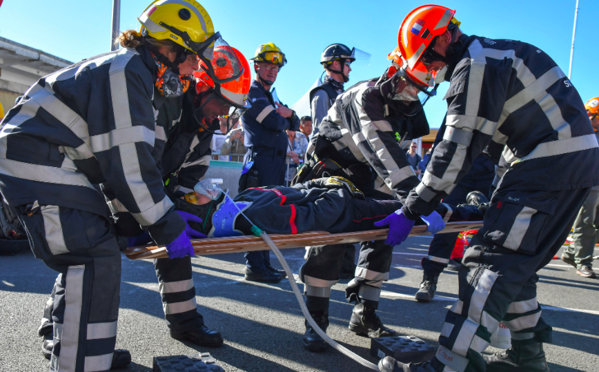 FIRE AID attends World Rescue Challenge in France