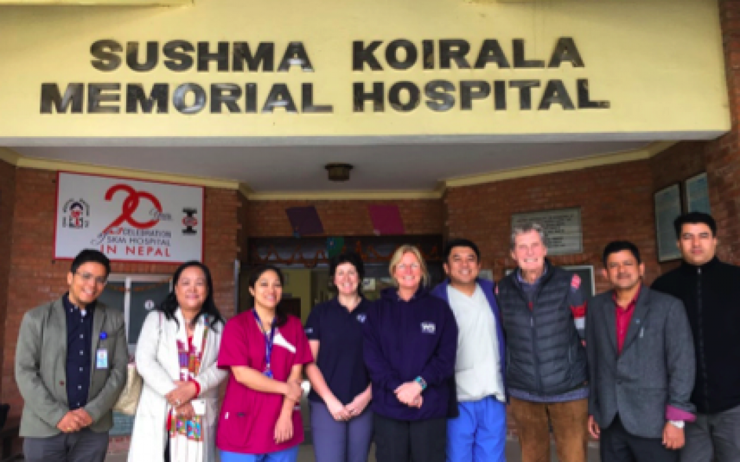 FIRE AID member, Women in the Fire Service undertake their first scoping visit to Nepal